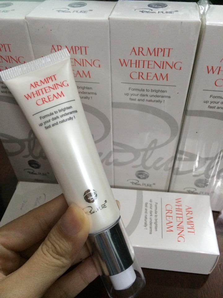 Kem Trị Thâm Nách Armpit Whitening Cream Blue Pure 30ml Của Úc