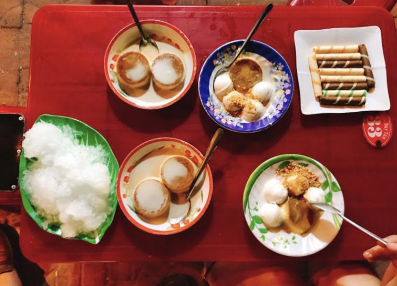 Kem trộn Duy Tân một thức ăn vặt chưa bao giờ hết