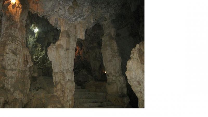 Hang động đá ở Địch Lộng, Kẽm Trống