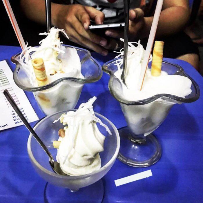Những ly kem mát lạnh giải nhiệt mùa hè