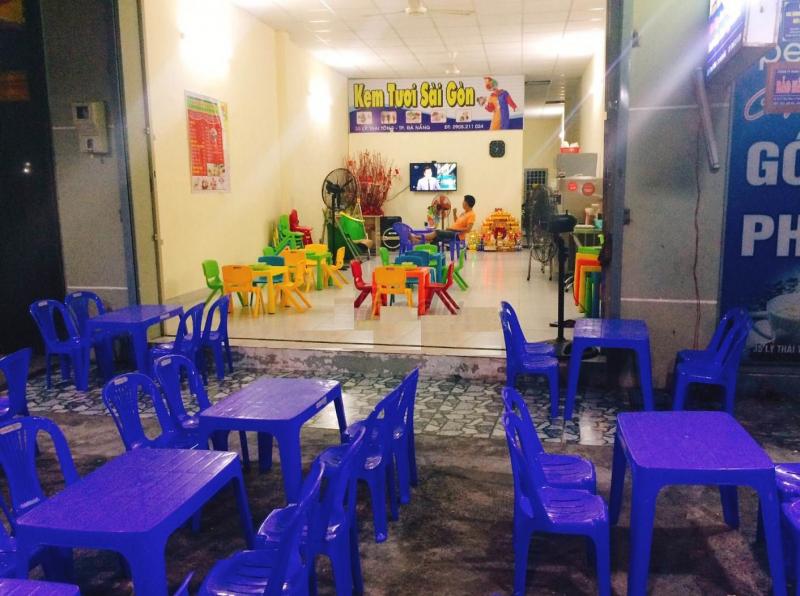 Quán kem tươi tại 33 Lý Thái Tông