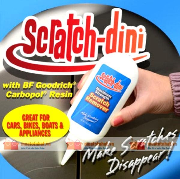 Kem xóa vết xước xe hơi Scratch-Dini