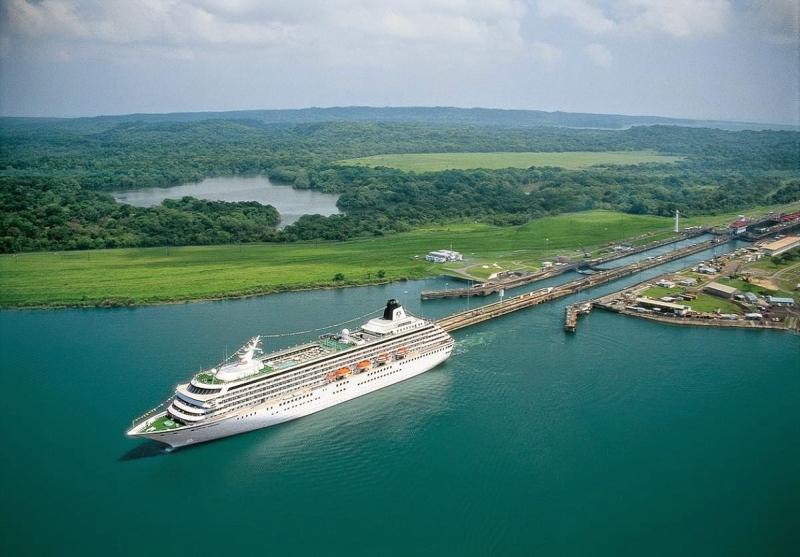 Kênh đào Panama nổi tiếng thế giới
