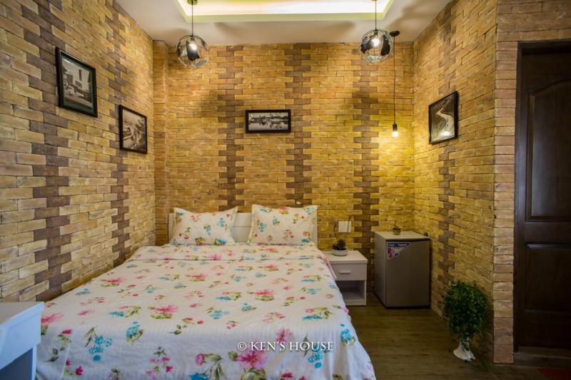 Phòng ốc được trang trí đẹp mắt tại Ken's House Backpackers