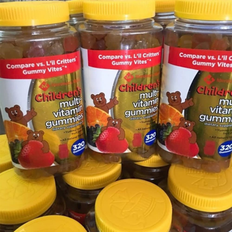 Kẹo bổ đa vitamin cho trẻ em Member's Mark Children's Multi-Vitamin Gummies 320 viên