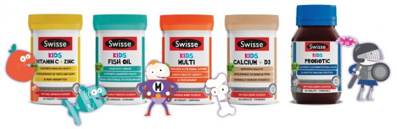 Swisse Kids Vitamin C + Zinc