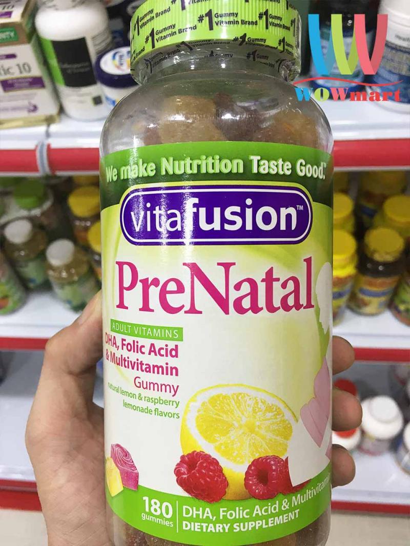 Kẹo bổ sung Vitamin dành cho bà bầu Vitafusion PreNatal