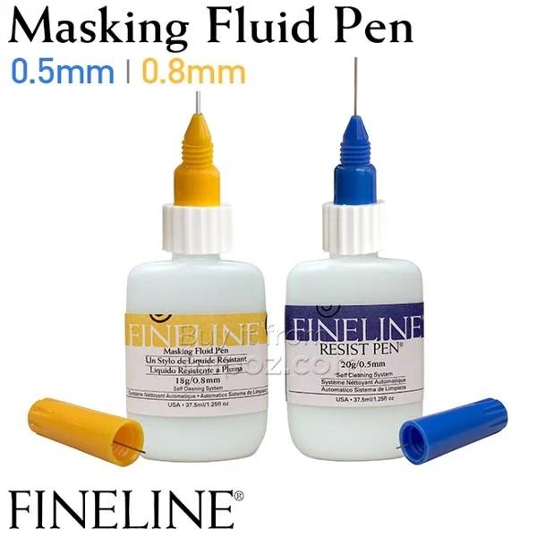 Keo chặn màu nước Fineline