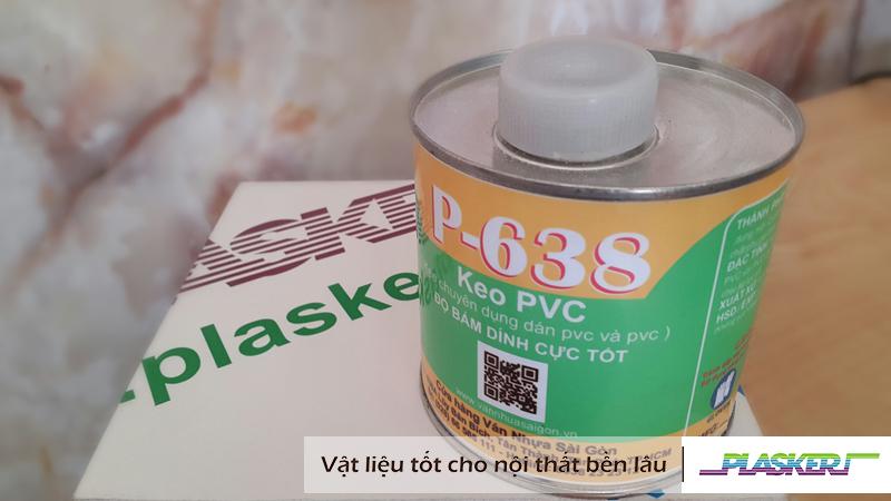 Keo dán nhựa PVC – P-638
