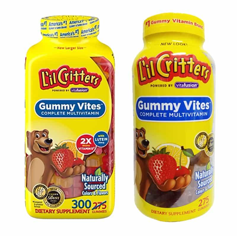 Gummy Vites Kẹo Dẻo Bổ Sung Vitamin Và Khoáng Chất Cho Trẻ: