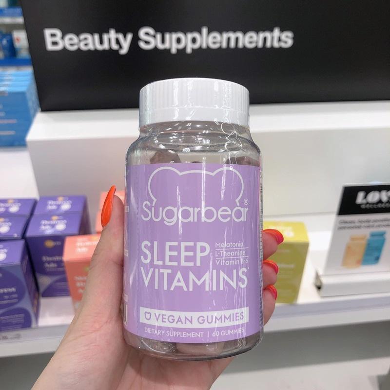Kẹo dẻo hỗ trợ giấc ngủ SugarBear Sleep Vitamin