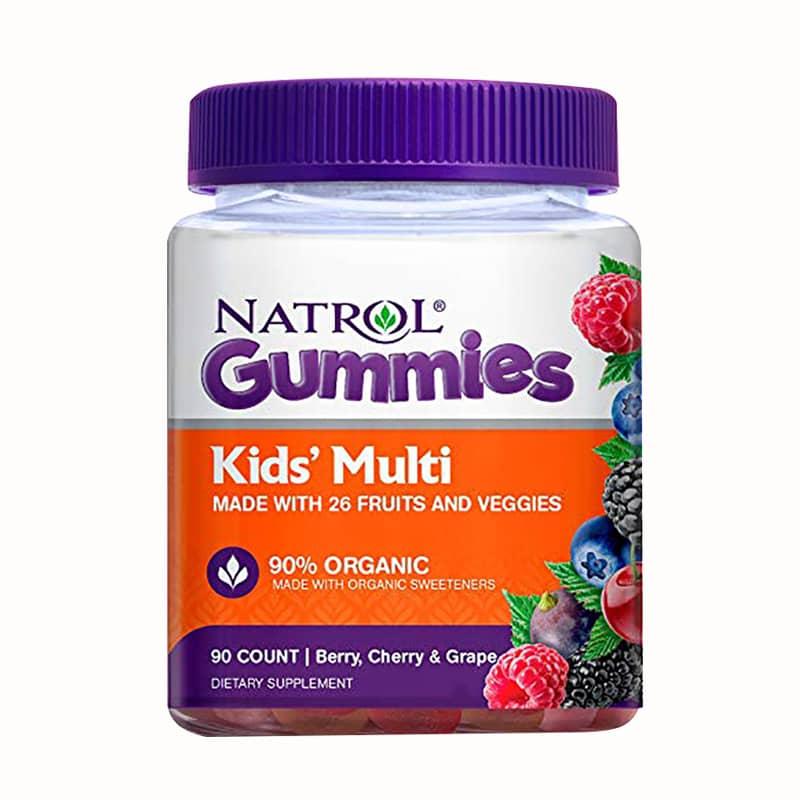 Kẹo dẻo vitamin cho trẻ Natrol Gummies Kids' Multi 90 viên