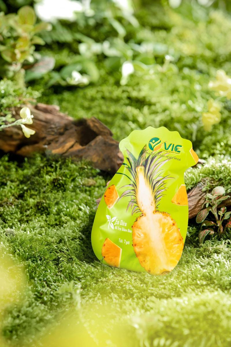 Kẹo Dứa giảm cân V.I.C Organic
