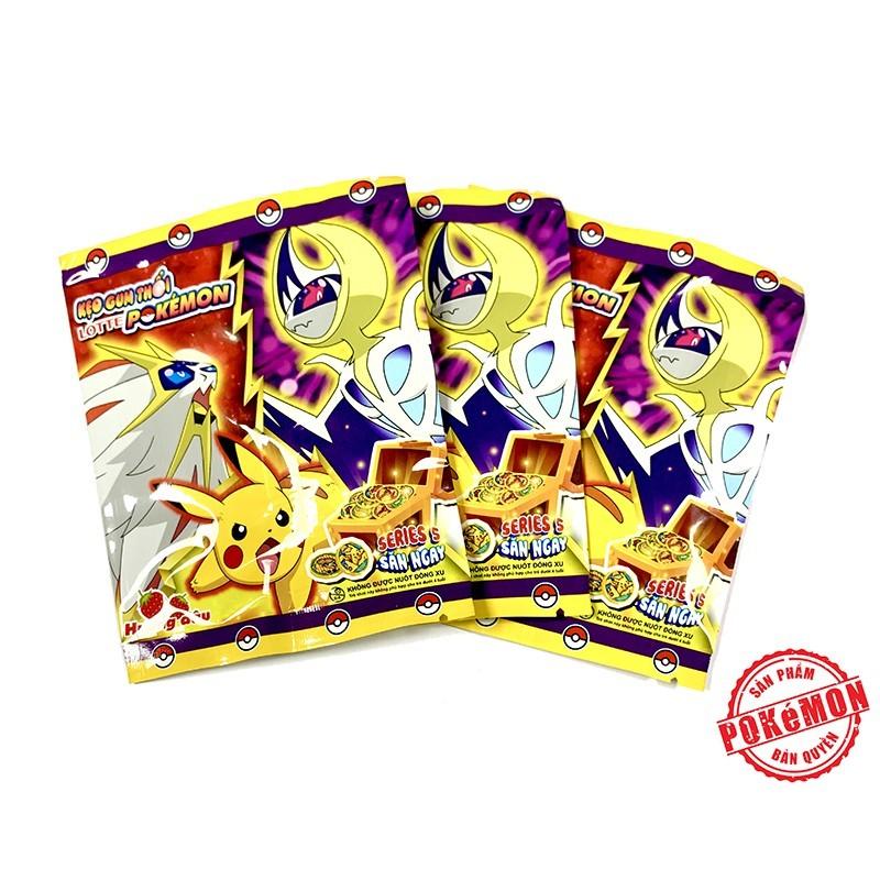 Kẹo Gum Thổi Lotte Pokémon