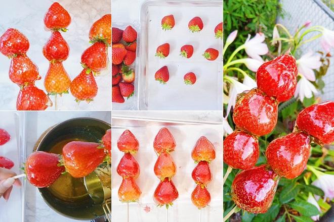 Kẹo hồ lô dâu tây