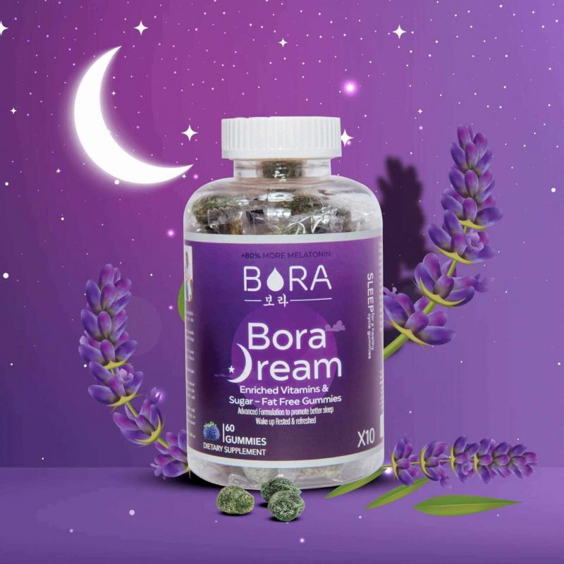 Kẹo hỗ trợ giấc ngủ Bora Dream