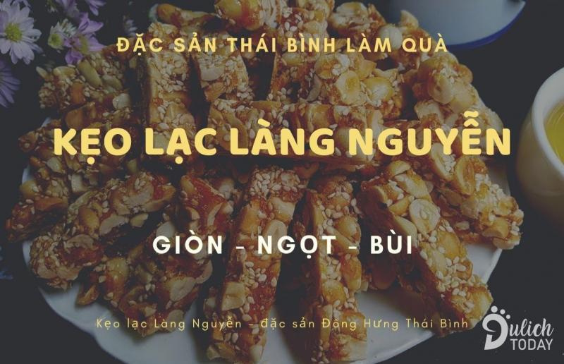 Kẹo lạc làng Nguyễn