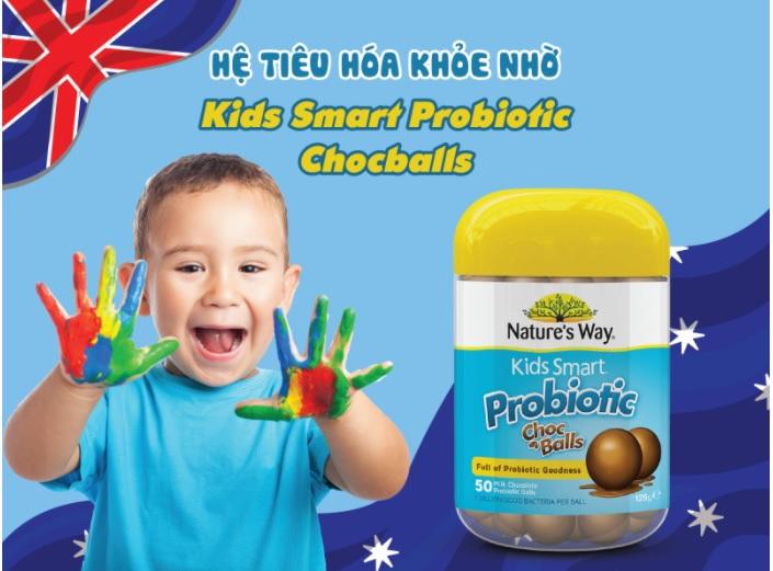 Nature's Way Kids Smart Probiotic ChocBalls