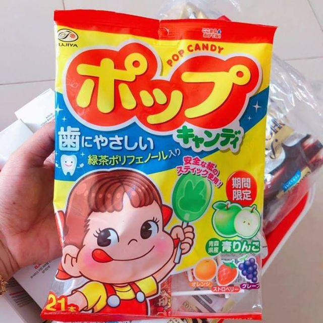 Kẹo mút trái cây Fujiya Pop Candy