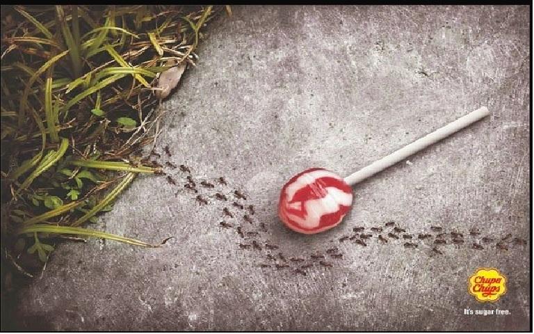 Kẹo mút Chupa Chups không đường - đến kiến cũng phải bỏ qua