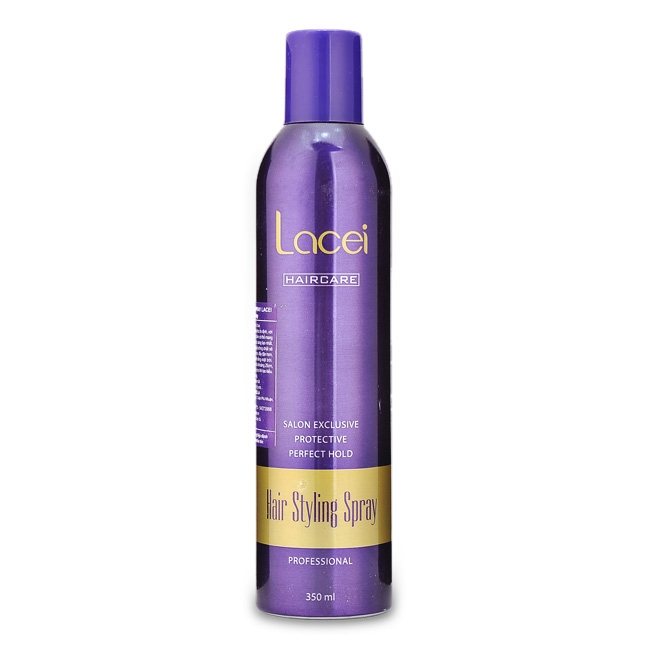Keo xịt tóc cứng Lacei Hair Styling Spray