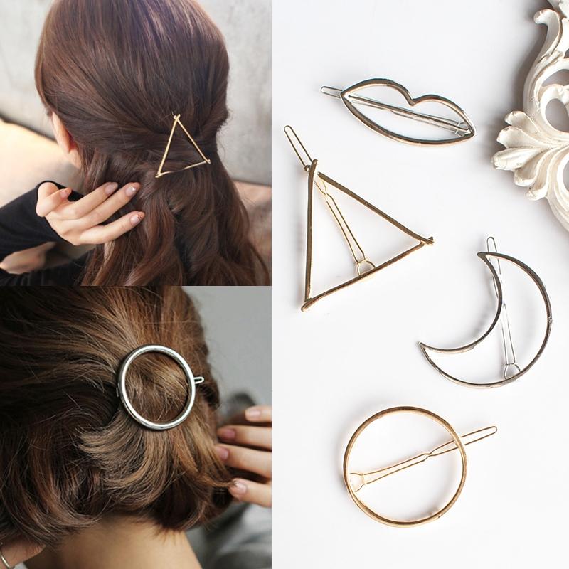 Kẹp tóc hình khối đang rất được ưa chuộng nhờ sự đơn giản và tiện dụng của chúng