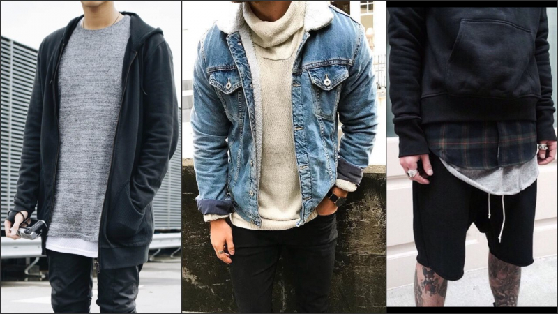 Kết hợp trang phục theo kiểu layer