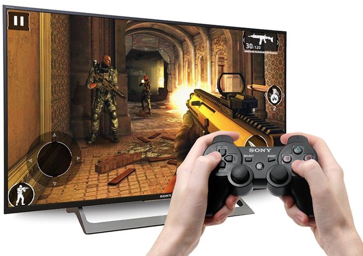 Kết nối Tivi với tay cầm chơi game