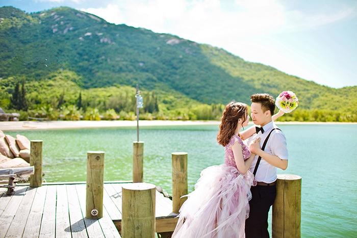 Ảnh cưới lưu giữ lại những khoảnh khắc hạnh phúc nhất