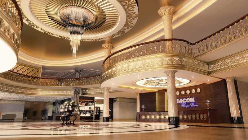 Tiền sảnh khách sạn ấn tượng