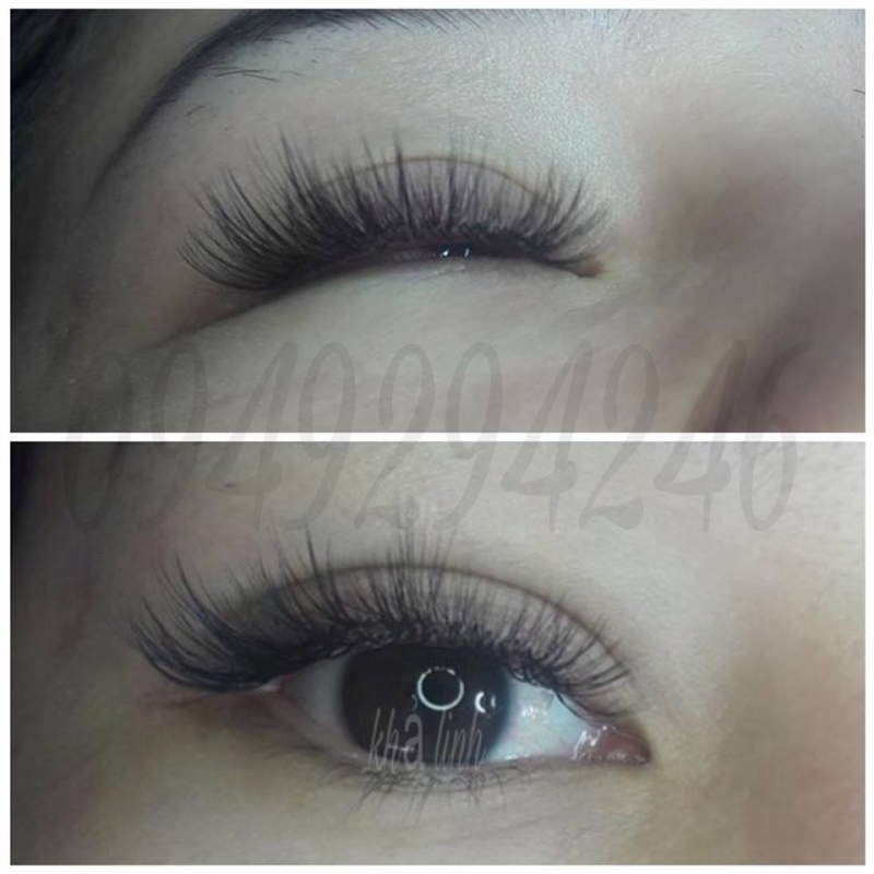 Khả Linh eyelash