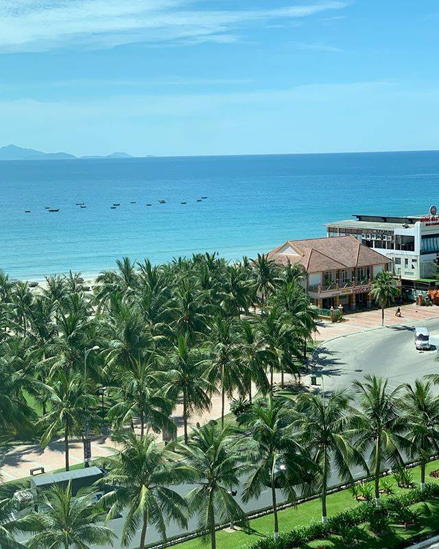 Tầm nhìn hướng biển tuyệt đẹp của A La Carte Danang Beach (Nguồn Internet)
