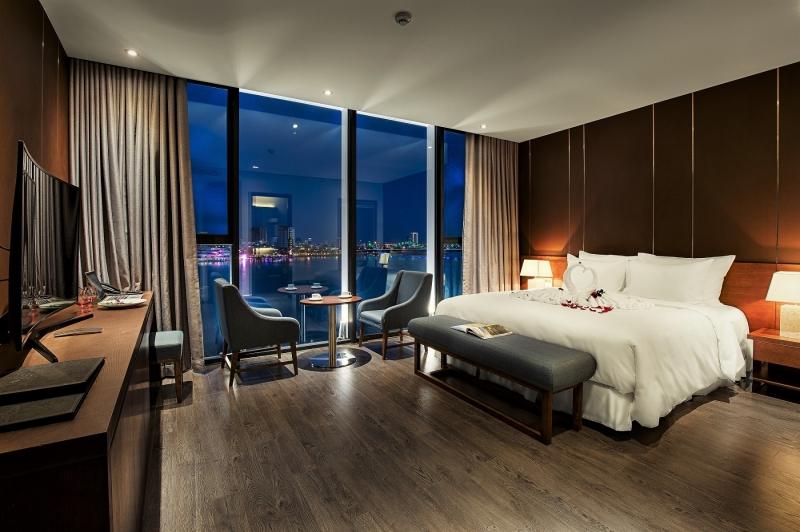 Phòng nghỉ tại khách sạn Avora