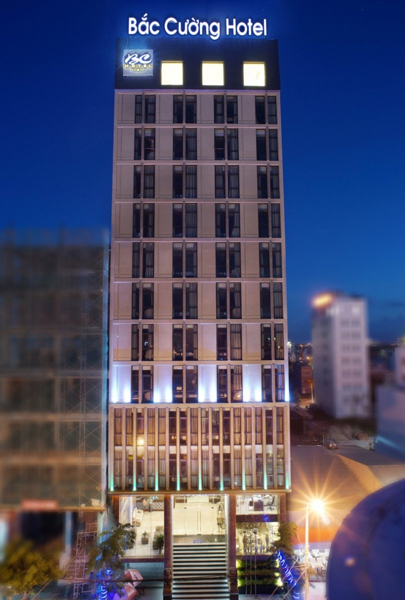 Khách sạn Bắc Cường tọa lạc tại Phước Mỹ khu vực của thành phố Đà Nẵng