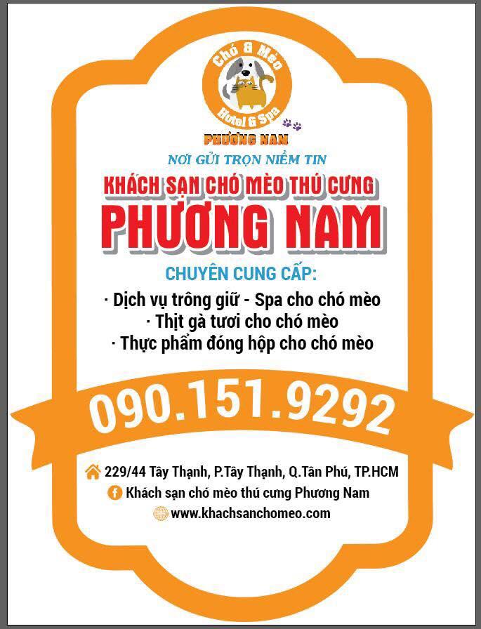 Khách sạn chó mèo Phương Nam