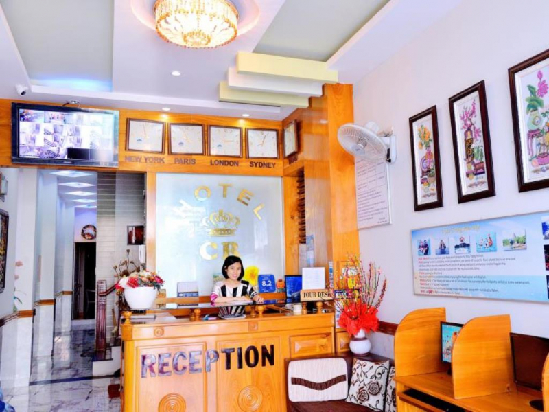 CR hotel lobby