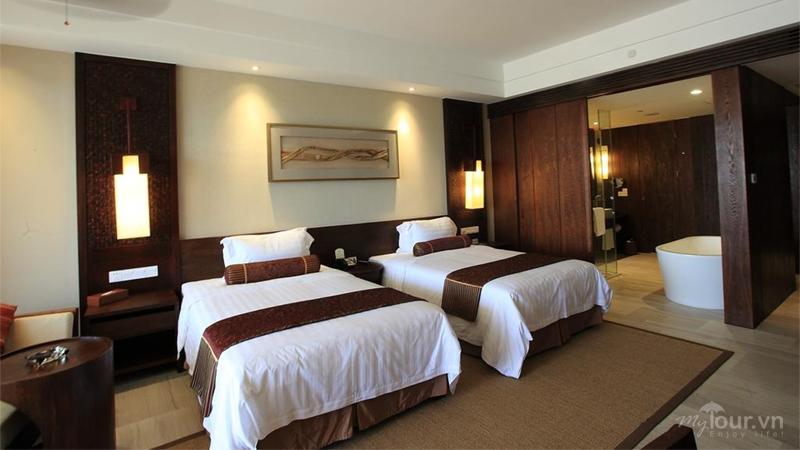 Phòng ngủ ở Crowne Plaza