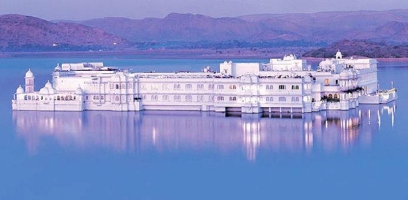 Khách sạn cung điện Udaipur - Ấn Độ