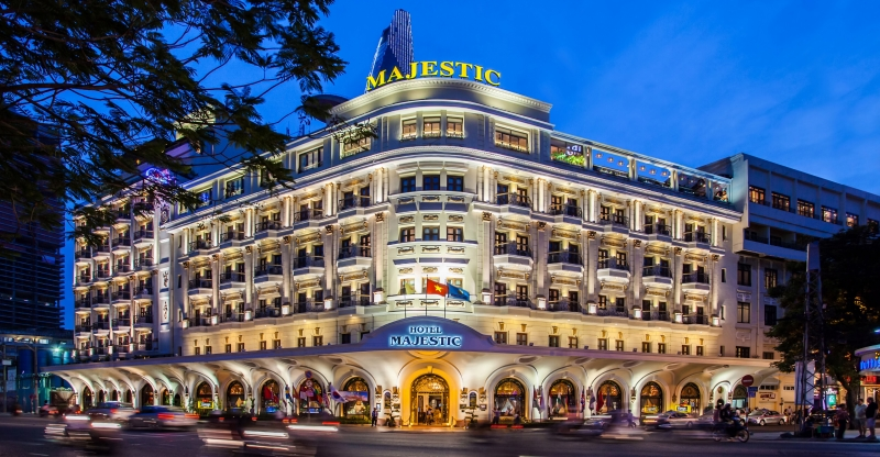 Toàn cảnh khách sạn Majestic