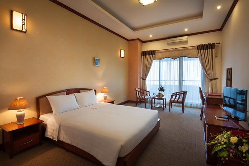 Phòng nghỉ tại Khách sạn CWD
