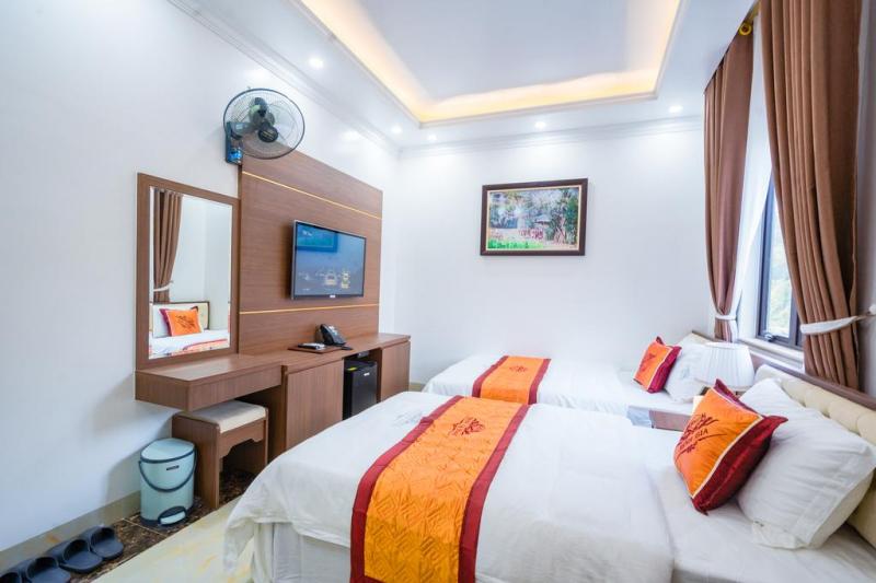Phòng nghỉ rộng rãi, hiện đại