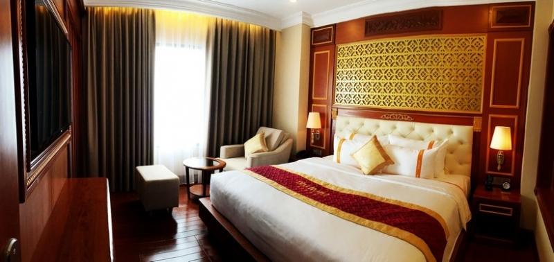 Không gian phòng ngủ ở DLG Đà Nẵng
