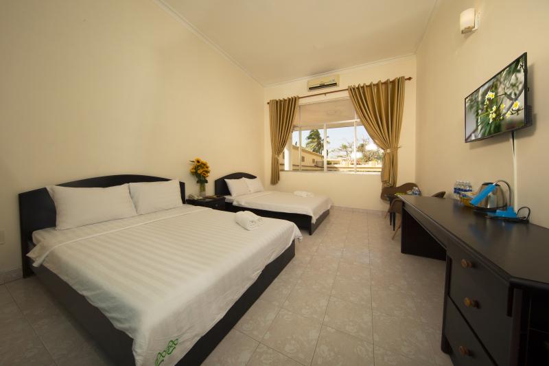 View khách sạn đồi dừa