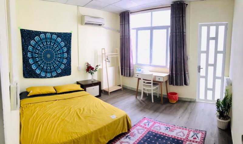 Phòng ngủ đôi tại Feli Home.