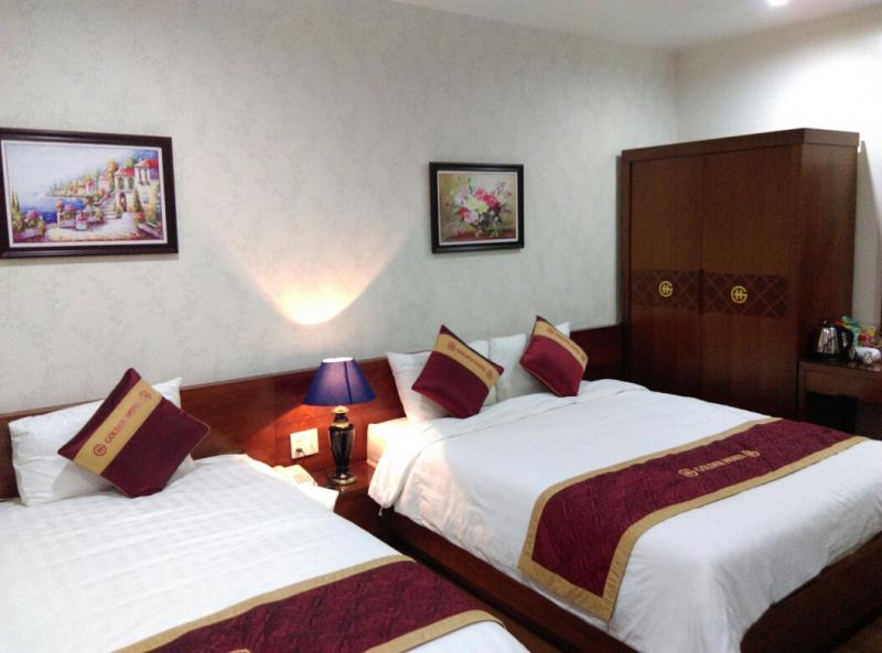 Một góc của phòng nghỉ Golden Thai Binh Hotel