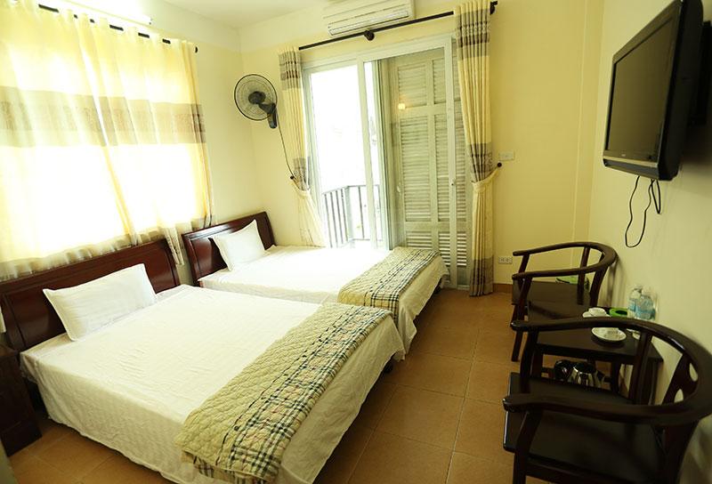 Phòng ở khách sạn HANVET Tam Đảo