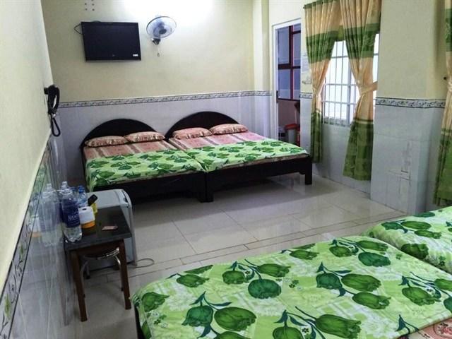 Phòng tại khách sạn Hoàng Minh