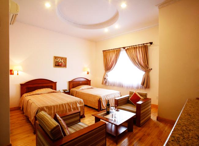 Phòng tại khách sạn Hoàng Yến