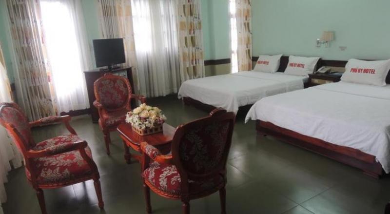 Nội thất khách sạn Phú Uy