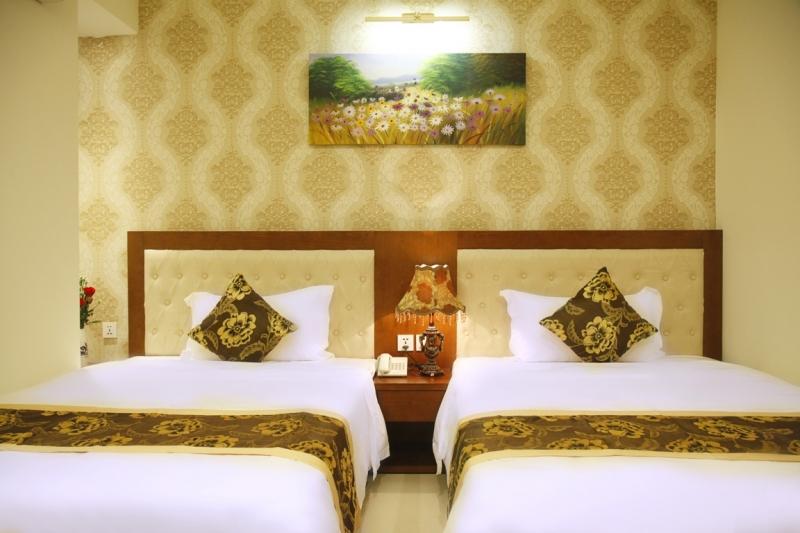 Giá thuê phòng khá rẻ nhưng chất lượng cao sẽ là điểm hút khách của Hùng Anh trong các mùa du lịch.